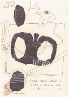 #41.2 TimeMachine - Null (c) Zeichnung von Susanne Haun