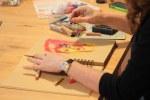 9a. Schritt - Pastell Portrait (c) Zeichnung von Susanne Haun