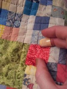 Ein Quilt entsteht (c) Foto von Susanne Bröer