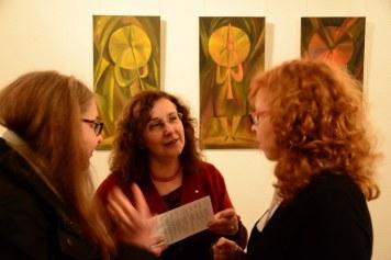 Galerie Vinogradov - der Ausstellung Ideale der Schönheit (c) Foto von M.Fanke