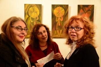 Galerie Vinogradov - Besprechung der Ausstellung Ideale der Schönheit (c) Foto von M.Fanke