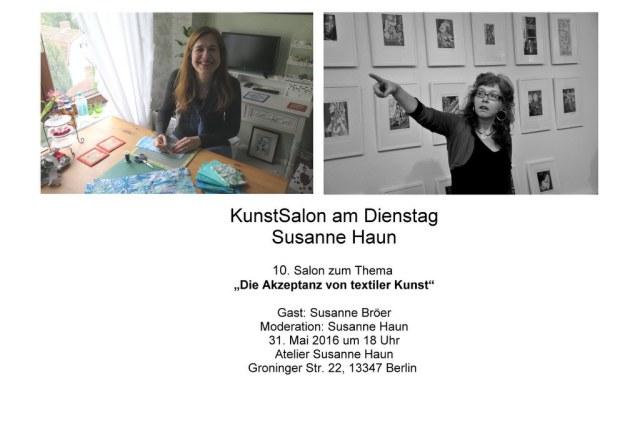 Salon Einladung 31.5.2016 Gast Susanne Bröer