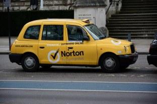 Taxi in London (c) Foto von M.Fanke