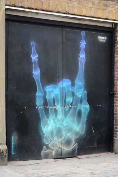 London Whitechapel - Graffiti (c) Foto von M. Fanke