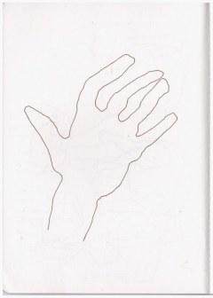 Die Hand (c) Skizze von Susanne Haun