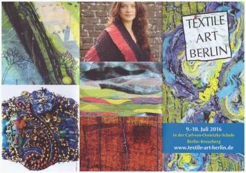 12. Textile Art Berlin - Flyer Außenseite