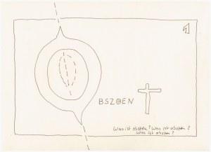 #59.1 Die Obzönität der Null (c) Zeichnung von Susanne Haun