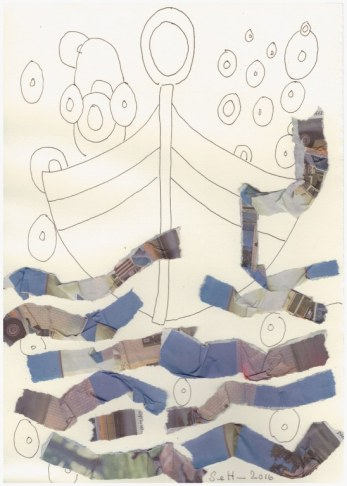 #60.2 Der Nulltunnel (c) Zeichnung von Susanne Haun