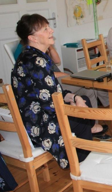 Nathalie Wolters beim KunstSalon (c) Foto von Susanne Haun