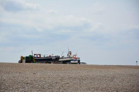 Boote am Strand (c) Foto von M.Fanke
