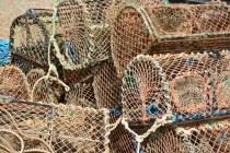 Fischernetze, Hummerfangkörbe (c) Foto von M.Fanke