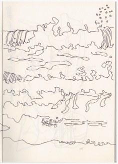 Cley next the Sea - Strandspaziergang (c) Zeichnung von Susanne Haun