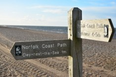 Ankunft in Norfolk - Cley next the sea (c) Foto von M.Fanke