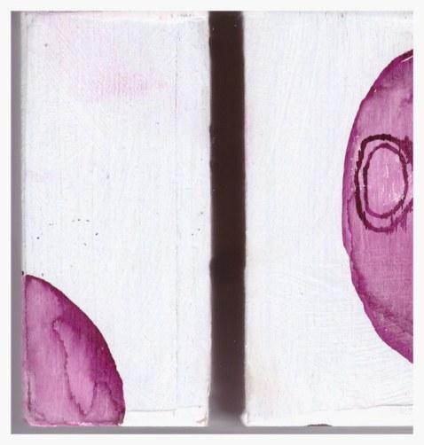 #66.5 Detail die Obszönität der Vermessung der Null (c) Glasobjekt von Susanne Haun