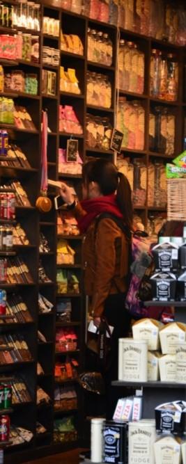 Cambridge hat viele kleine Geschäfte (c) Foto von M.Fanke