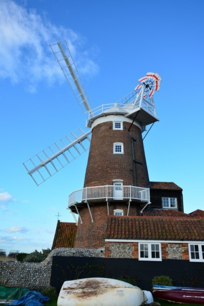Windmühle in Cley next the sea (c) Foto von M.Fanke