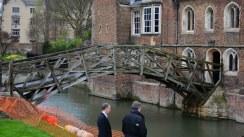 Newtons Brücke in Cambridge - Mathematikerbrücke (c) Foto von Susanne Haun