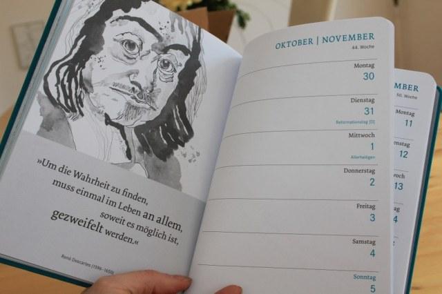 Buchkalender Philosophie 2017 - 44. Woche - Meiner Verlag (c) Foto von Susanne Haun