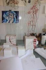 Entstehung der Null - Glasobjekte (c) von Susanne Haun