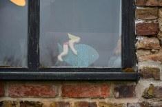 Fensterblick auf dem Weg zur St Margaret's Church in Cley next the sea (c) Foto von M.Fanke