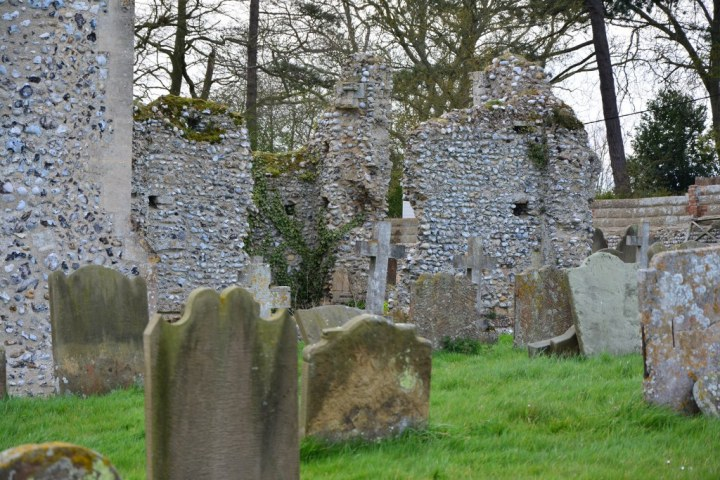 Friedhof St Margaret's Church in Cley next the sea (c) Foto von M.Fanke