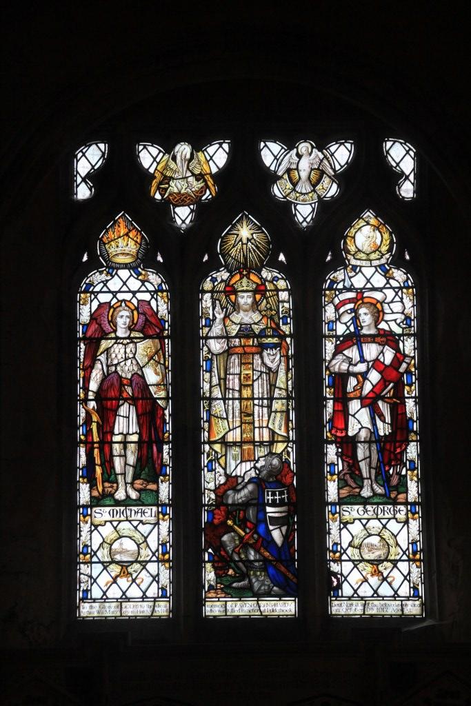 Glasfenster St Margaret's Church in Cley next the sea (C) Foto von Susanne Haun