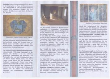 Offene Kirche Roddahn - Flyer Innenseite