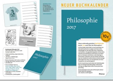 Philosophie 2017 - Neuer Buchkalender im Meiner Verlag für Philosophie