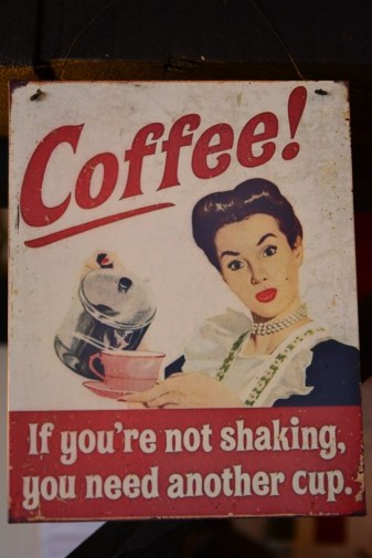 Zum Abschluss Coffee in Norfolk (c) Foto von M.Fanke
