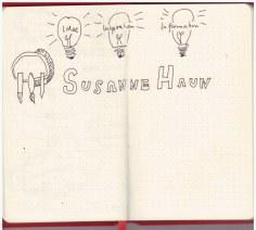 2. Versuch - Kontakt (c) Sketchnote von Susanne Haun