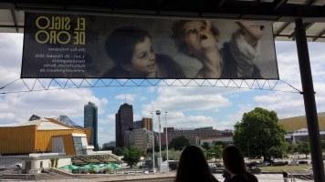 Blick aus dem Kulturforum zum Potsdamer Platz (c) Foto von Susanne Haun
