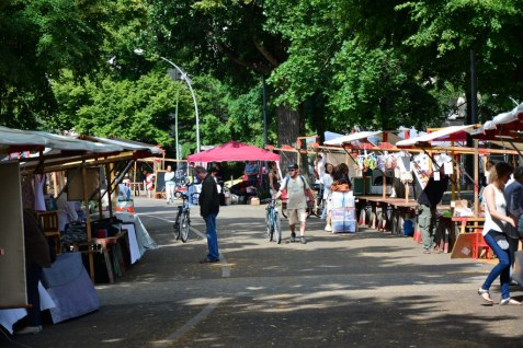 Schon vor Beginn füllt sich der Weddingmarkt 3. Juli 2016 (c) Foto von M.Fanke