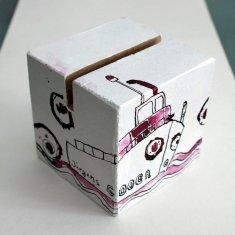 Entstehung Ein Nullboot ist schlecht zu steuern (c) Objekt von Susanne Haun