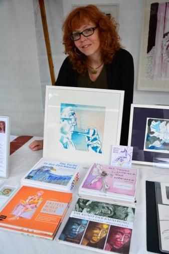 Susanne Haun Anleitungsbücher auf dem Weddingmarkt 3. Juli 2016 (c) Foto von M.Fanke