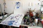 Mein Arbeitsplatz (c) Foto von Susanne Haun
