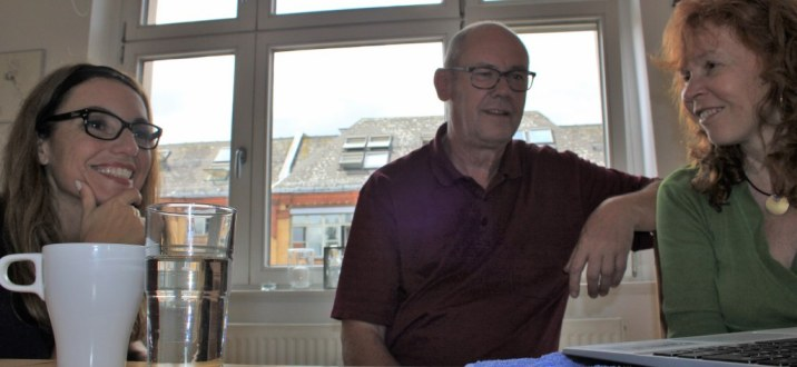 Nach getaner Arbeit S.Haun C.Wiedebusch und J.Küster (c) Foto von Susanne Haun