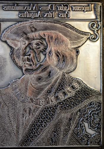 Reproduktion eines Holzschnitts von Dürer (c) Foto von M.Fanke