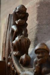 Gestühl in der Apsis der Lorenzkirche (c) Foto von M.Fanke
