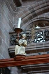 Die Engel sind in der Kirche allgegenwärtig (c) Foto von M.Fanke