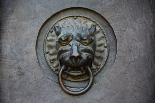 Türklopfer Portal der Lorenzkirche (c) Foto von M.Fanke