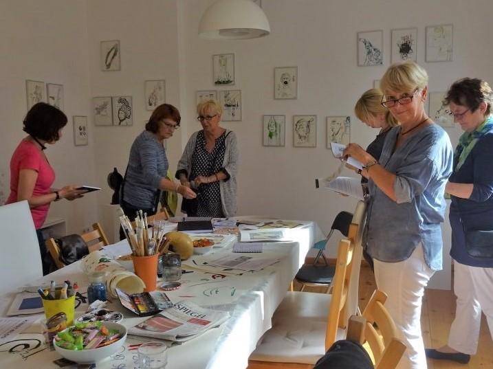 Impressionen von der Ausstellung Wegschütten (c) Foto von Susanne Haun
