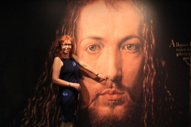 Ich wollte schon immer Herrn Dürer in der Nase boren (c) Foto von M.Fanke