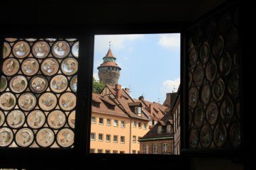 Ausblick aus dem Fenster des Dürerhauses (c) Foto von Susanne Haun