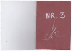 Nr. 3 - Heftchen Wegschütten - Küster und Haun Umschlag