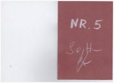 Nr. 5 - Heftchen Wegschütten - Küster und Haun Umschlag
