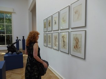 1 Susanne Haun im Kolbe Museum (c) Foto von M.Fanke