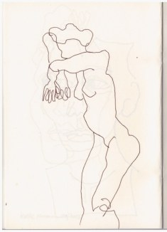 2 Aus meinem Skizzenbuch - im Kolbe Museum (c) Zeichnung von Susanne Haun