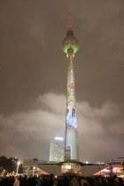 Festival of Lights - Fernsehturm (c) Foto von Susanne Haun