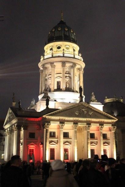 Französischer Dom - Festival of Lights (c) Foto von Susanne Haun