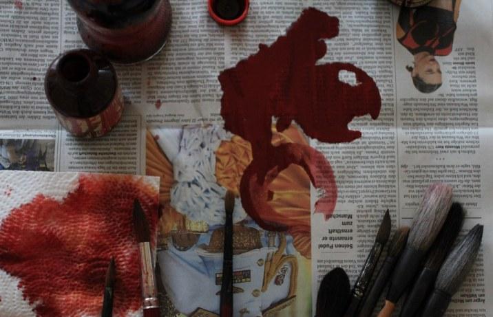 Arbeitswerkzeug für die Weisse (c) Foto von Susanne Haun